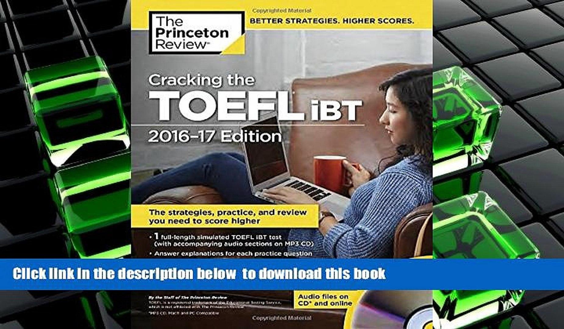 cracking the toefl ibt 2015 pdf free download