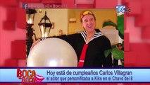 Hoy está de cumpleaños Carlos Villagran el actor que personificaba a Kiko en el Chavo del 8