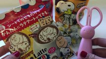 Snoopy Cookie and Deco Latte Sheet ~ スヌーピー クッキー デコラッテ DIY How to Make Snoopy Caffe Latte