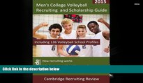 Kindle eBooks  Men s College Volleyball Recruiting and Scholarship Guide: Including 136 Volleyball