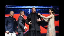 Hollywood star Vin Diesel And Deepika Padukone , XXX - The Return of Xander Cage, IN MUMBAI