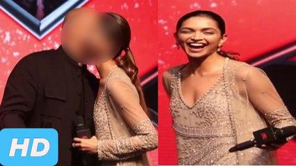 Vin Diesel KISS Deepika Padukone At XXX Return Of Xander Cage Premiere Mumbai