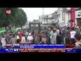 PKL Kota Bogor Halangi Satpol PP Lakukan Pembongkaran