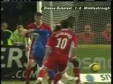 20.04.2006 - 2005-2006 UEFA Cup Semi Final 1st Leg Steaua Bükreş 1-0 Middlesbrough FC