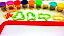 Crayola Play Doh Animals Using MoldsKids Creative Fun PlayCat Dog,Fish,Mouse,BearPreschool Learn