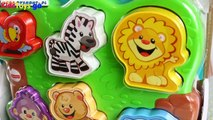 Play doh Town - Fisher-Price - Zoo Animal Puzzle  Puzzle Malucha 'Wesołe Zoo' - Laugh & Learn -