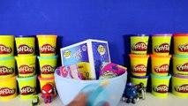 GIANT SADNESS Surprise Egg Play Doh - Inside Out Toys Disney Pixar Emotion Funko Pop