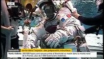 Scaphandre dilaté, eau dans le casque d'un astronaute... Quand les sorties dans l'espace ont failli virer au drame