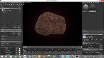 Zbrush Sculpting - Rock Sculpting