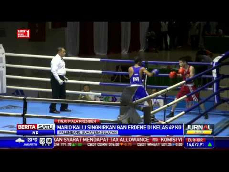 Petinju Indonesia Masuk Final Kejuaraan Tinju Amatir Presiden Cup 2015