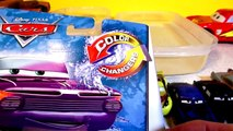 Pixar Cars New Color Changer Ramone with Lightning McQueen Finn McMissile and The Delinquint Road Ha