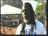 Tiken Jah FAKOLY Commissaire du Festival rassure pour le Festival Mandingue qui commence demain.