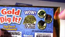 Cutting OPEN Squishy Gold & Diamond Dig It BARS! Whats INSIDE? Real Gold or DIAMONDS? FUN