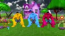 Hulk Cartoon Rain Rain Go Away Nursery Rhymes | Hulk 3D Rain Rain Go Away Rhymes For Children
