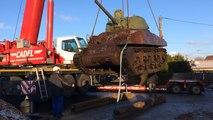 Un char de la Seconde Guerre mondiale bientôt au Mémorial des civils