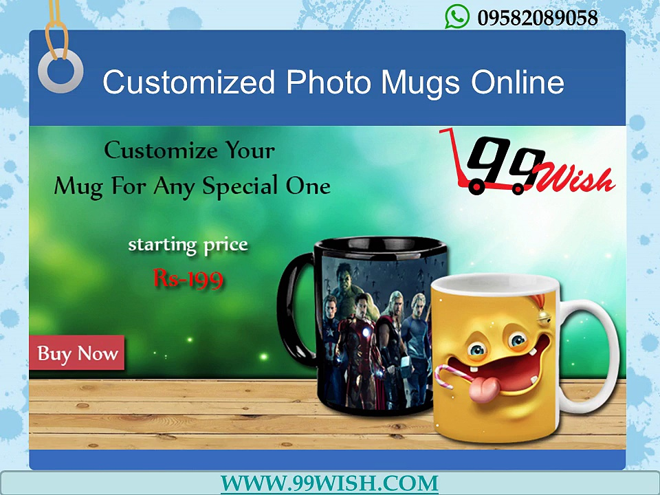 Photo Printing on T shirts, Mugs, Mobile Covers online in Delhi, India