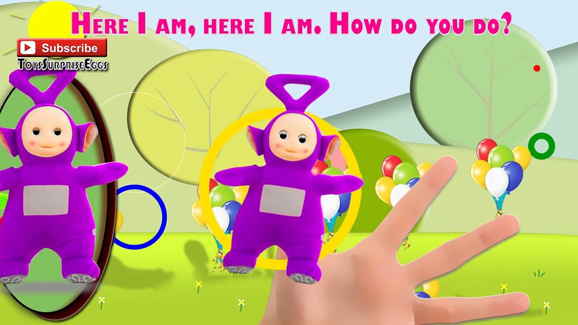 Teletubbies Finger Family Nursery Rhyme Kids SONGS Daycare Education | ToysSurpriseEggs