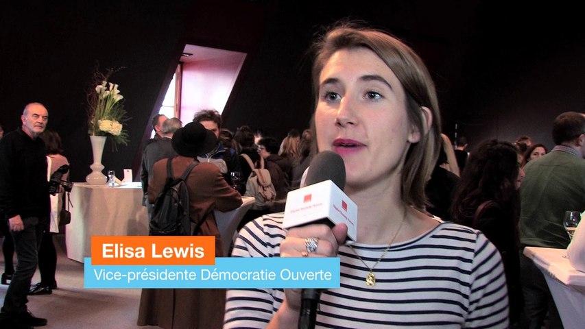 """""""Des initiatives réinventent la démocratie"""" Elisa Lewis"""