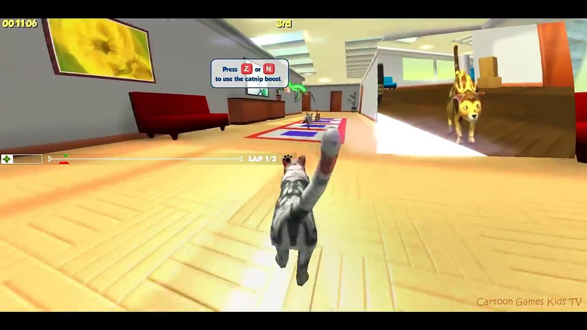 Team Drift Cats - Cartoon Games Kids TV