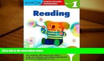 READ ONLINE  Grade 1 Reading (Kumon Reading Workbooks) PDF [DOWNLOAD]