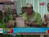 BP: Dating Zamboanga del Norte Rep. Romeo Jalosjos, nag-file ng COC sa pagka-mayor ng Zamboanga City