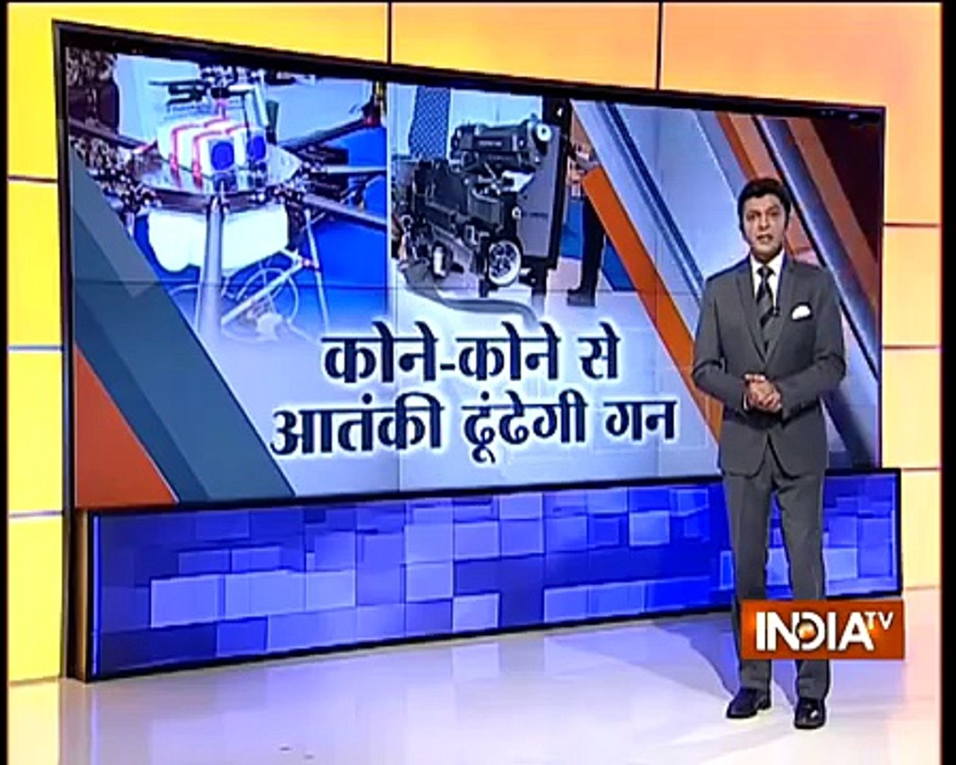 DRDO India Developed Latest Technology Robots For Indian Army To Counter Pakistani Terrorists