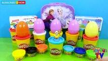 DISNEY FROZEN LEGO PEPPA PIG SURPRISE EGGS Play Doh Kinder Surprise Eggs Minions The Simpsons