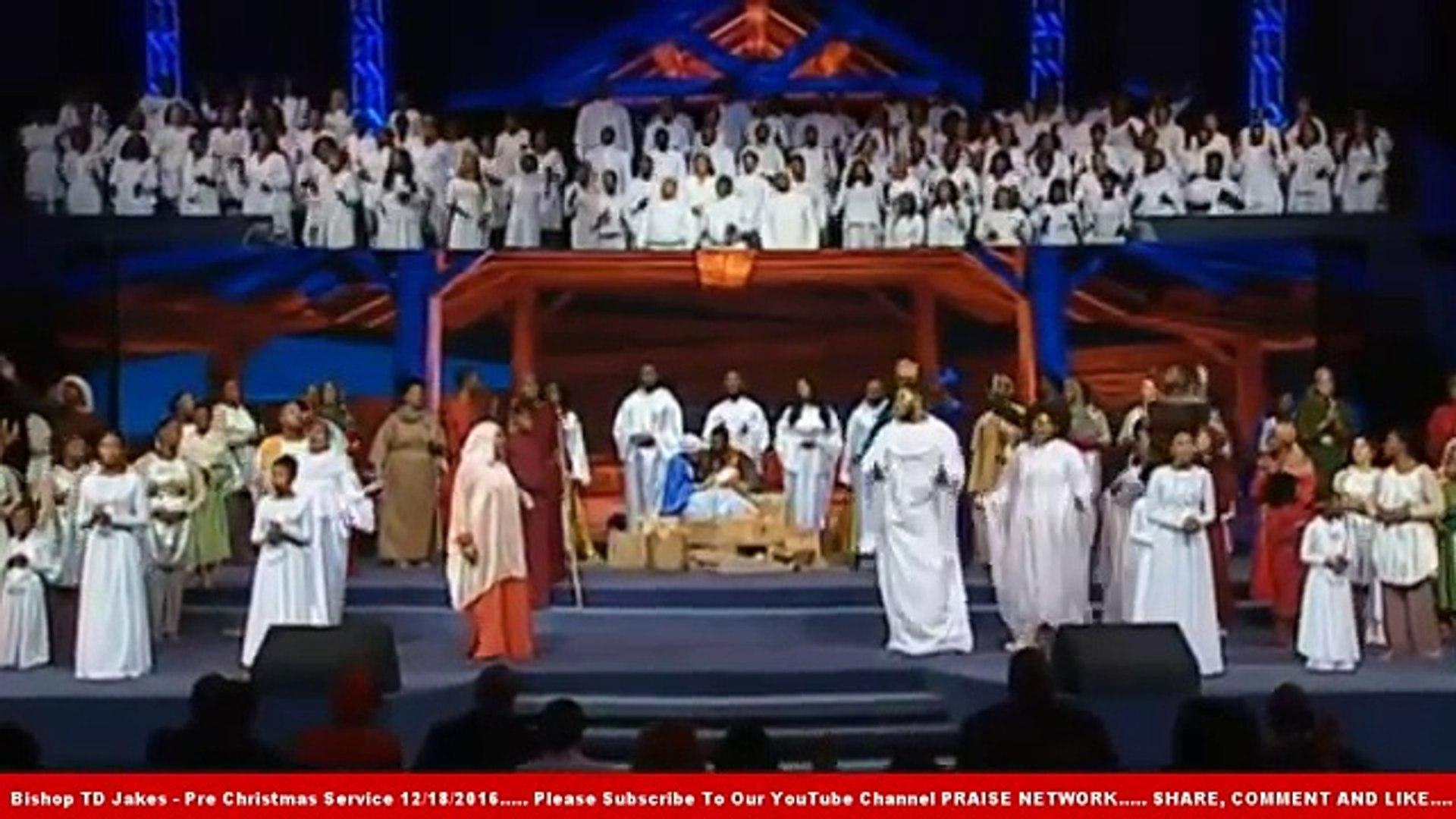 Bishop TD Jakes - Pre Christmas Service 12/18/2016 - Must Watch Sermons