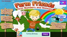 Farm Friends Learn to Count - Android gameplay TabTale Movie apps free kids best top TV film