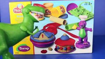 Play Doh Barney Bakery with Toy Story Rex Dinosaur Play Doh Pie Play Dough Cake Play Doh Food