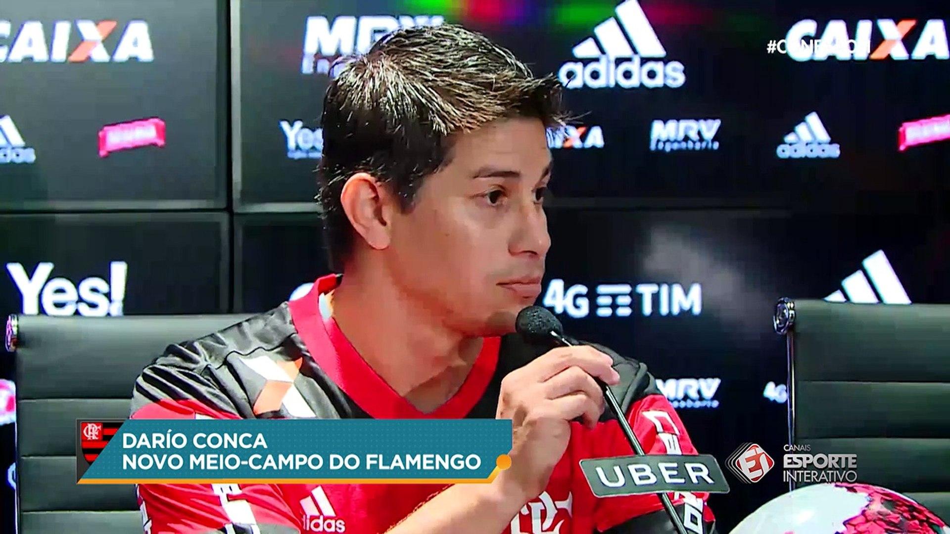 Conca justifica escolha pelo Flamengo: 'Me apoiaram em um momento difícil da minha carreira
