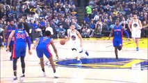 Curry Drops 24 Points Against The Detroit Pistons