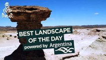 Stage 11 - Paisaje del día / Landscape of the day / Paysage du jour; powered by Argentina
