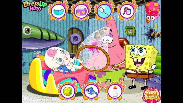Spongebob Squarepants & Patrick Game Cartoon Spongebob Baby Care