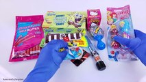 Candy Bonanza Haul Disney Princess Chupa Chups SpongeBob Krabby Patties Baby Bottle Rattlerz