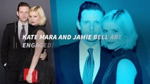 Kate Mara and Jamie Bell are engaged