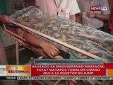 BT: Akusado sa Maguindanao massacre, patay nang tumalon mula sa rooftop ng BJMP
