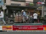 """BT: """"The Bourne Legacy"""", nagsimula   nang mag-shoot sa Marikina"""
