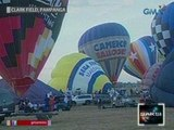 Saksi: 28 makukulay na hot air balloons, nagpatalbugan sa 17th PHL int'l hot air balloon fiesta