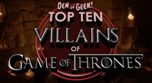 10 Best Game of Thrones Villains