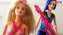 Barbie Girl Dolls Fairytale Fashion & Barbie Girl Doll Rock N Royals | Toys Review Video For Kids