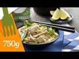 Recette de Poulet curry coco et légumes verts - 750 Grammes [Recette sponsorisée]