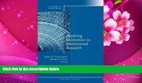 READ ONLINE  Applying Economics to Institutional Research: New Directions for Institutional
