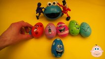 Kinder Surprise Egg Learn A Word! Spelling Play Doh Shapes! Lesson 3 Teaching Le