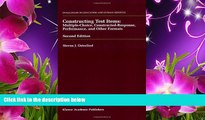 EBOOK ONLINE  Constructing Test Items: Multiple-Choice, Constructed-Response, Performance and