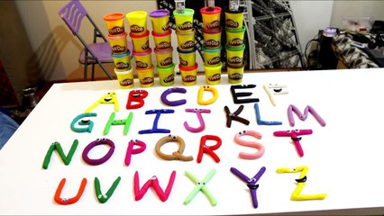ABC - Play Doh