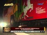 24 Oras: Lalaki, sugatan matapos tumalon mula sa umaandar na bus