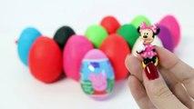 Peppa Pig Surprise Eggs Play Dough Eggs w/ Surprise Toys Huevos con Sorpresas
