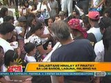 UB: Dalagitang hinalay at pinatay sa Los Baños, Laguna, inilibing na (030812)