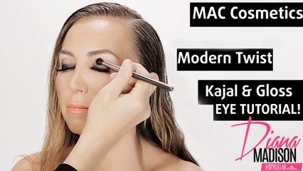 MAC Cosmetics Modern Twist Kajal and Gloss Eye Makeup Tutorial - Style Lab